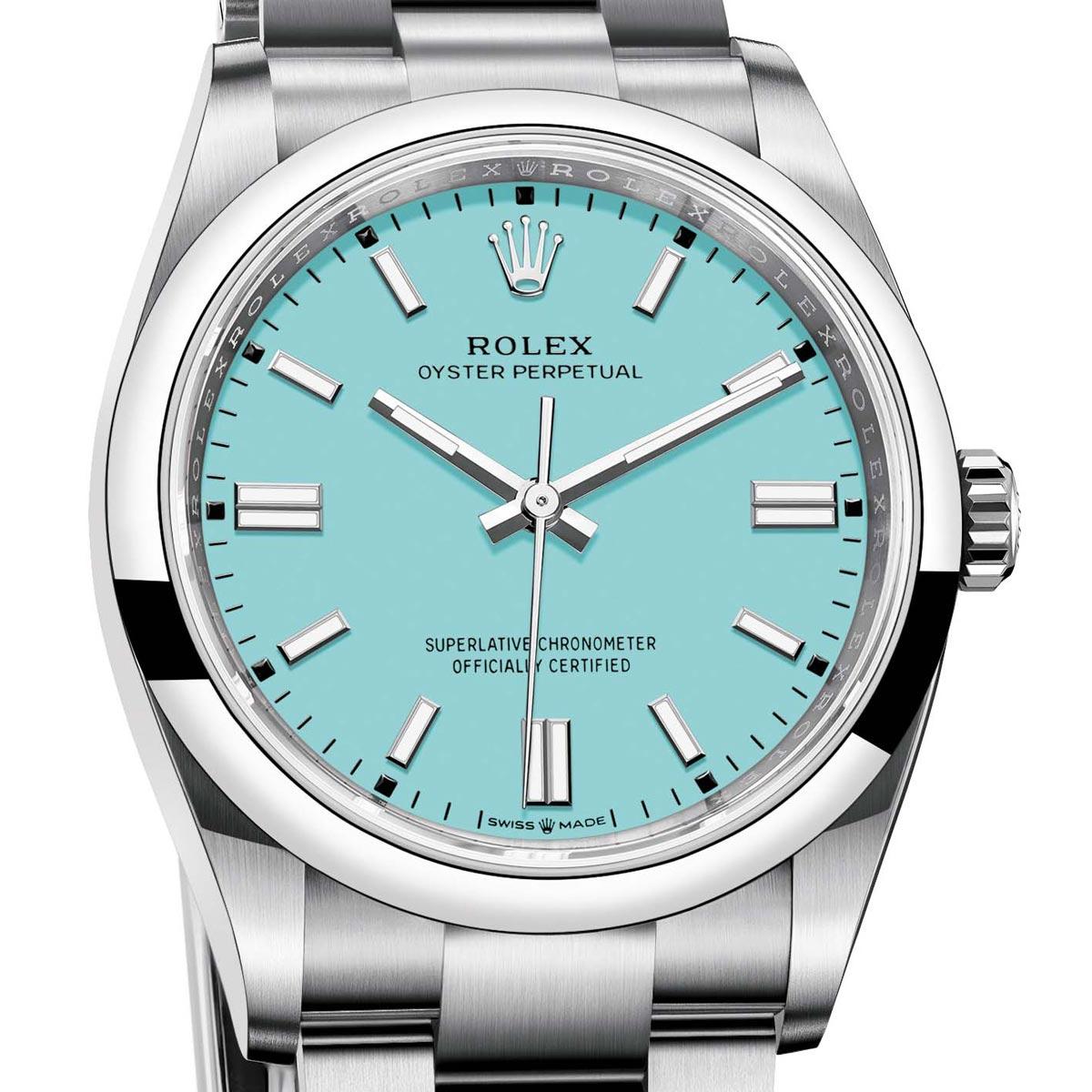 La Cote des Montres : Photo - La nouvelle Rolex Oyster Perpetual