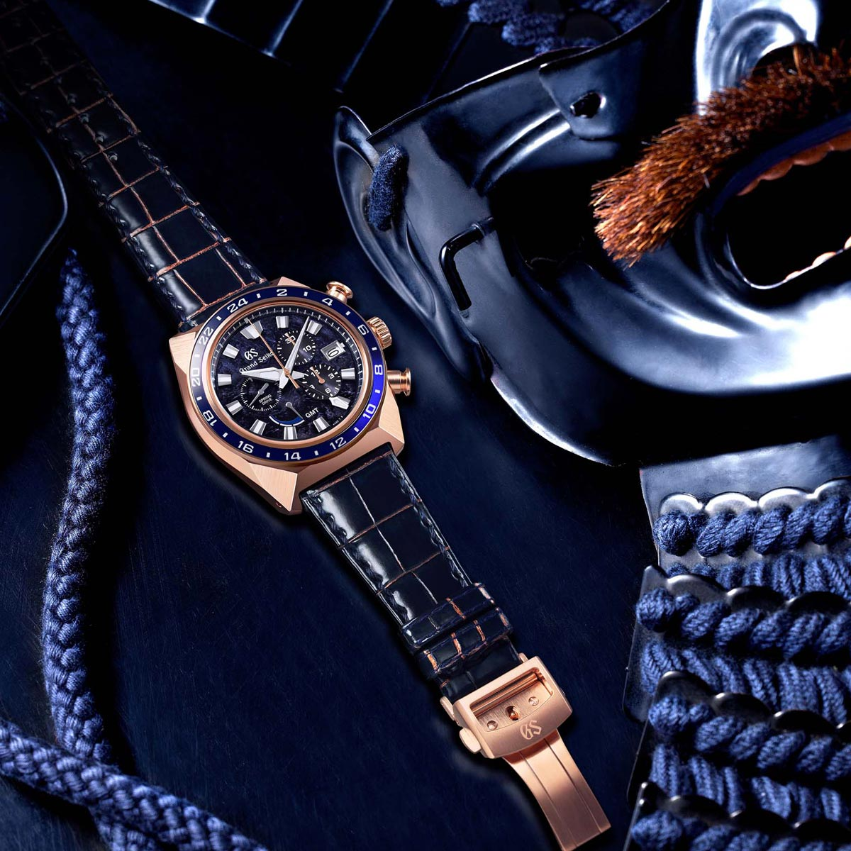 La Cote des Montres : Photo - Grand Seiko SpringDrive Chronograph GMT