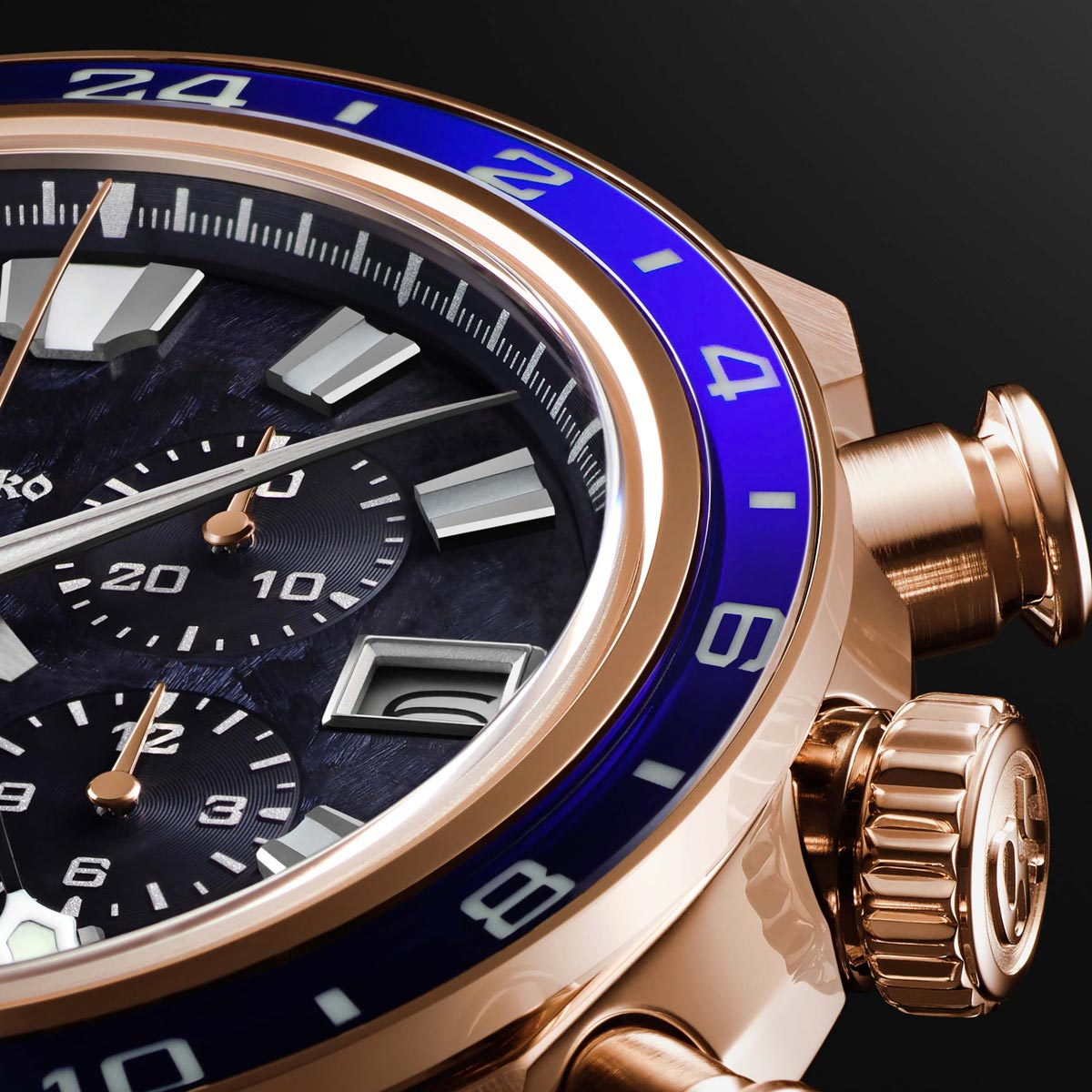 La Cote des Montres : Photo - Grand Seiko Spring Drive Chronograph GMT