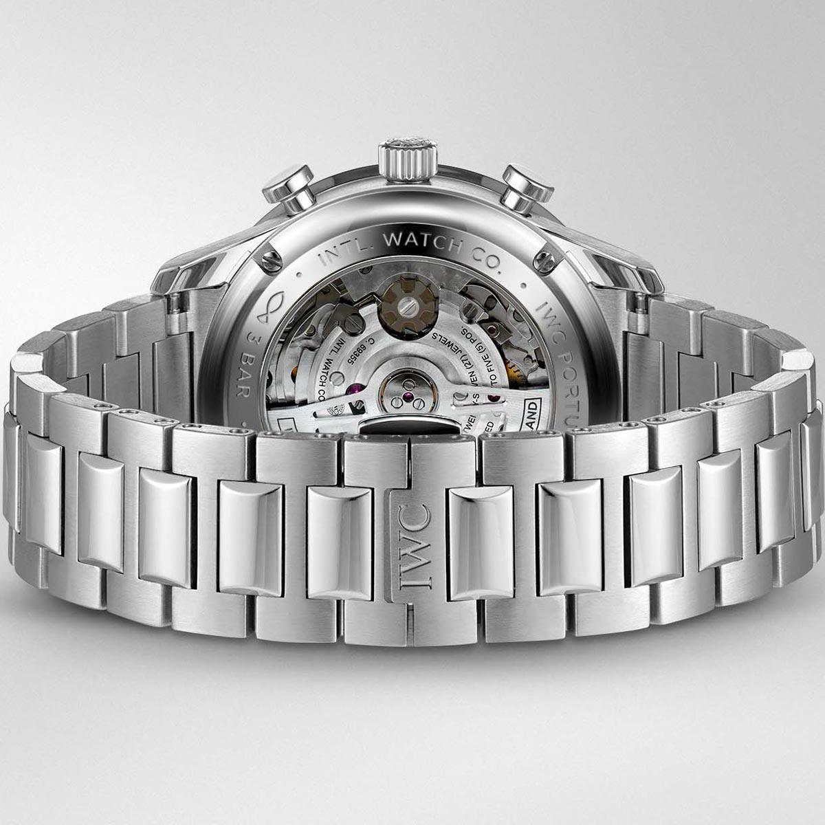 La Cote des Montres : Photo - IWC Portugieser Chronographe bracelet acier