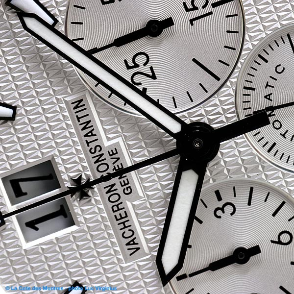 The Watch Quote: Photo - Vacheron Constantin  Chronograph Overseas