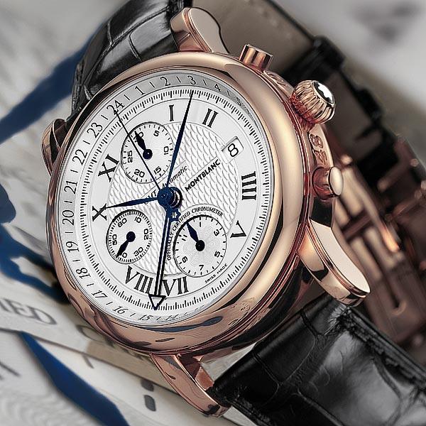 La Cote des Montres : Photo - Montblanc Star XXXL Chrono GMT Automatic