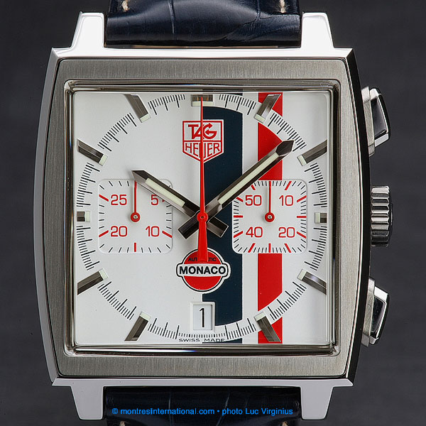 "The Watch Quote: Photo - Tag Heuer  ""Monaco Vintage�"