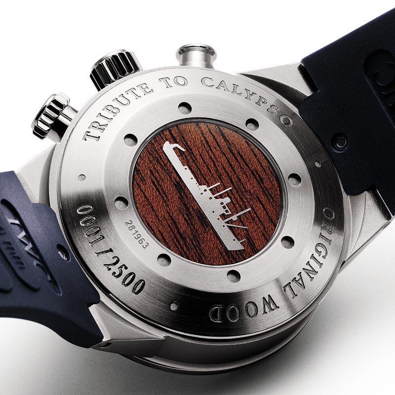 """The Watch Quote: Photo - IWC Aquatimer Chronograph """"Cousteau Divers�"""