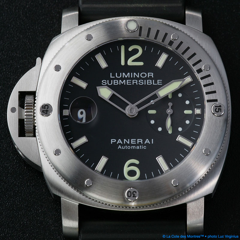 The Watch Quote: Photo - Panerai Submersible Chronopassion