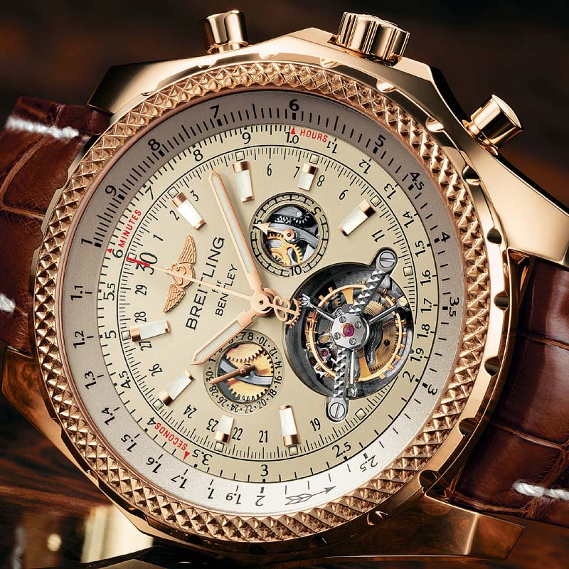 The Watch Quote Photo Breitling Mulliner Tourbillon For Bentley
