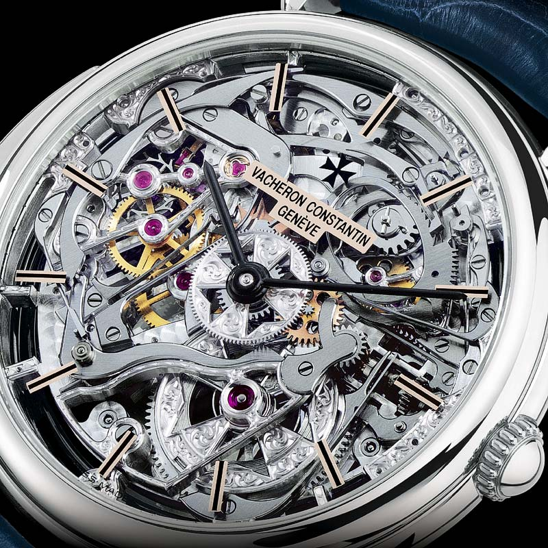The Watch Quote: Photo - Vacheron Constantin Platinum Skeleton Repeater