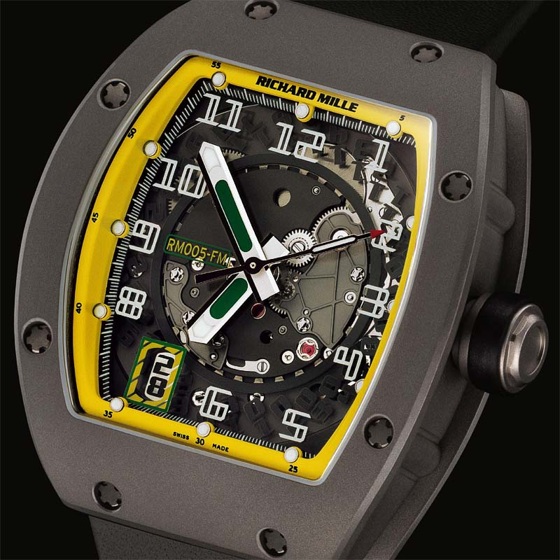 The Watch Quote: Photo - Richard Mille F1 Grand Prix Istanbul