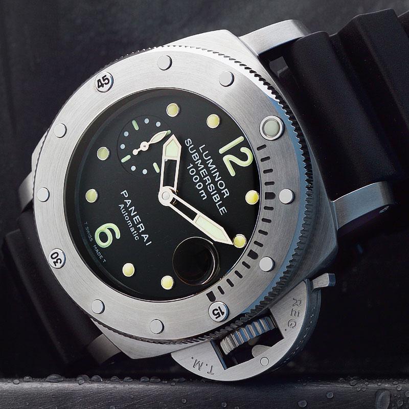 La Cote des Montres : Photo - Panerai Luminor 1950 Submersible 1000 M