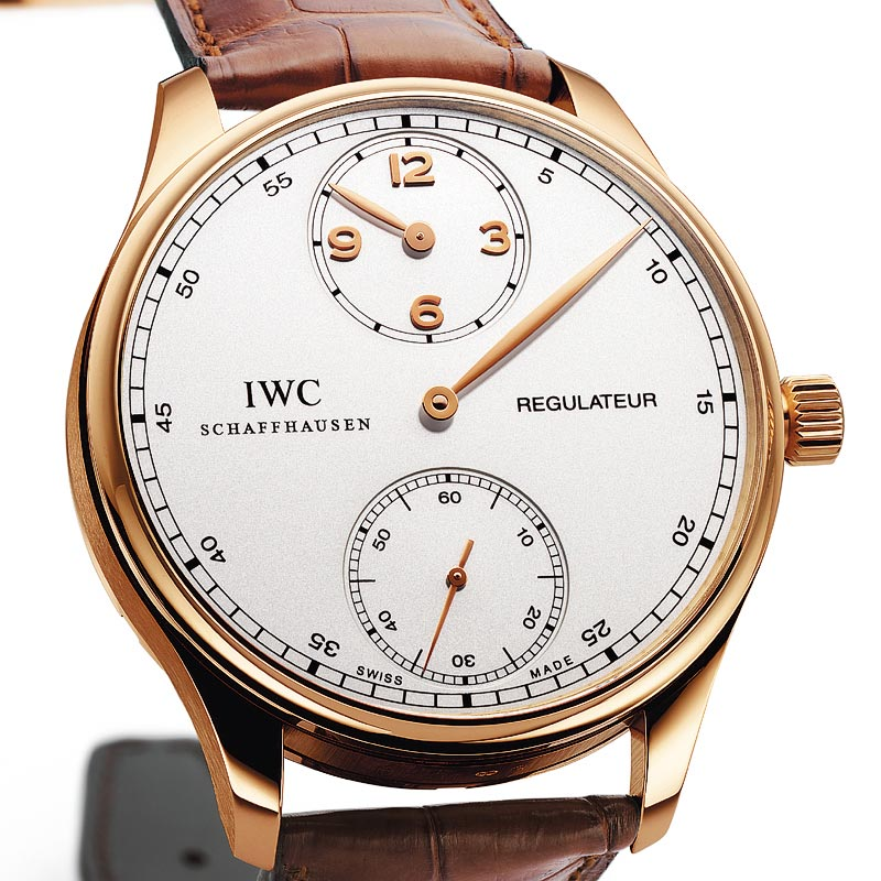 The Watch Quote: Photo - IWC Portugaise Régulateur