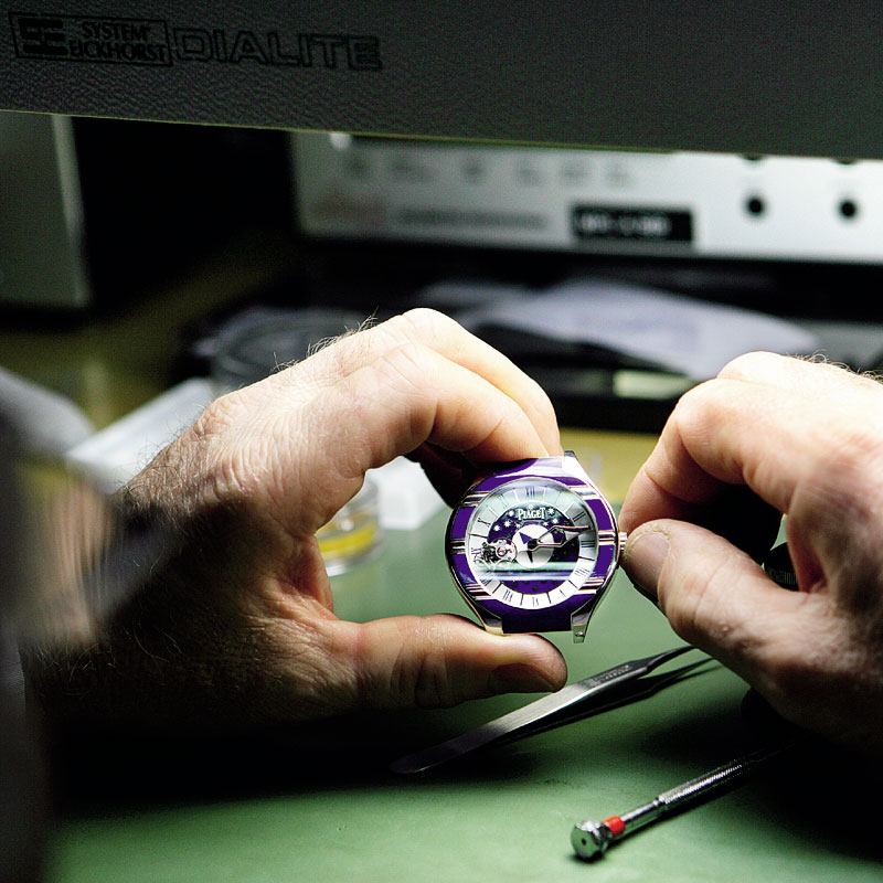 The Watch Quote: Photo - Piaget Polo Tourbillon Relatif dedicated to Venice