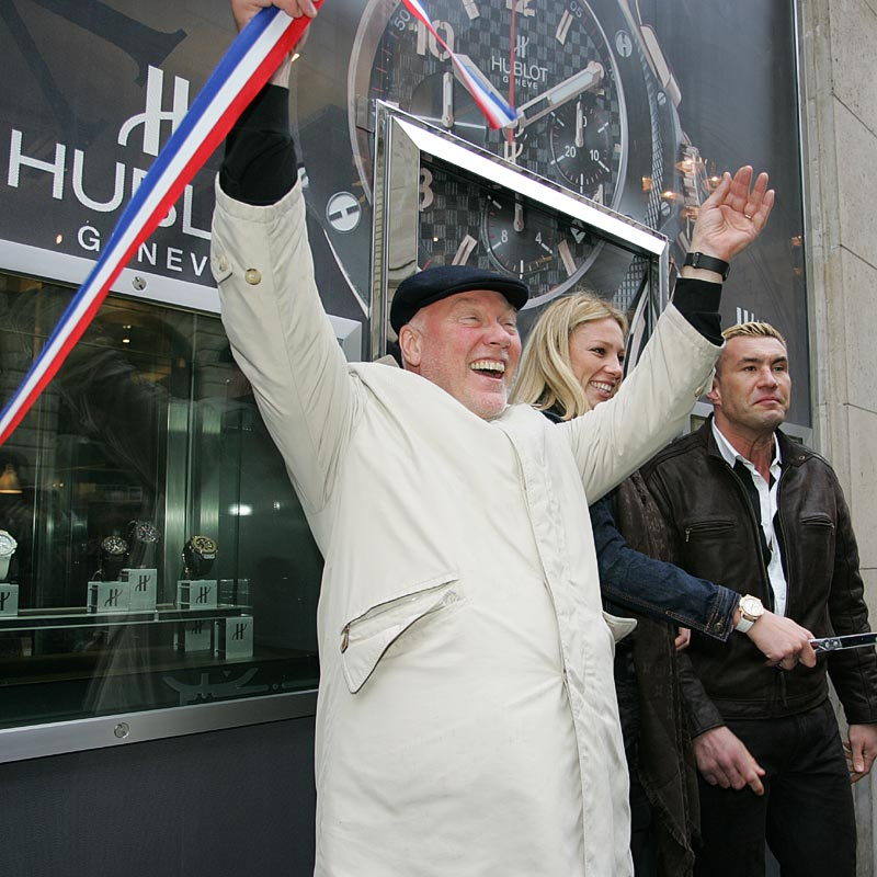 The Watch Quote: Photo - Hublot takes hold of Paris