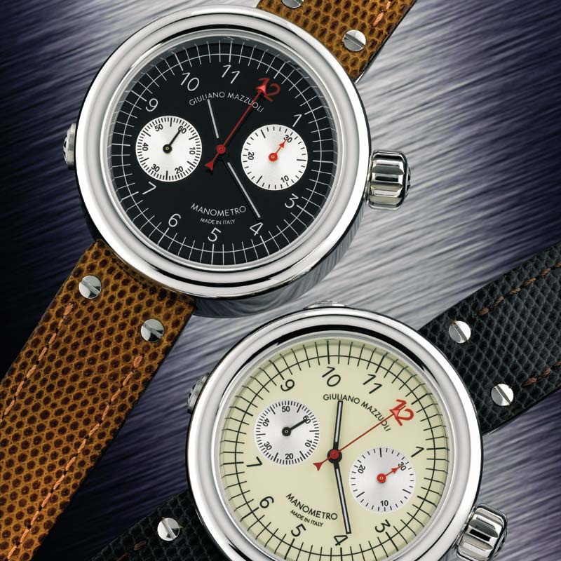 The Watch Quote: Photo - Giuliano Mazzuoli Manometro Chronograph