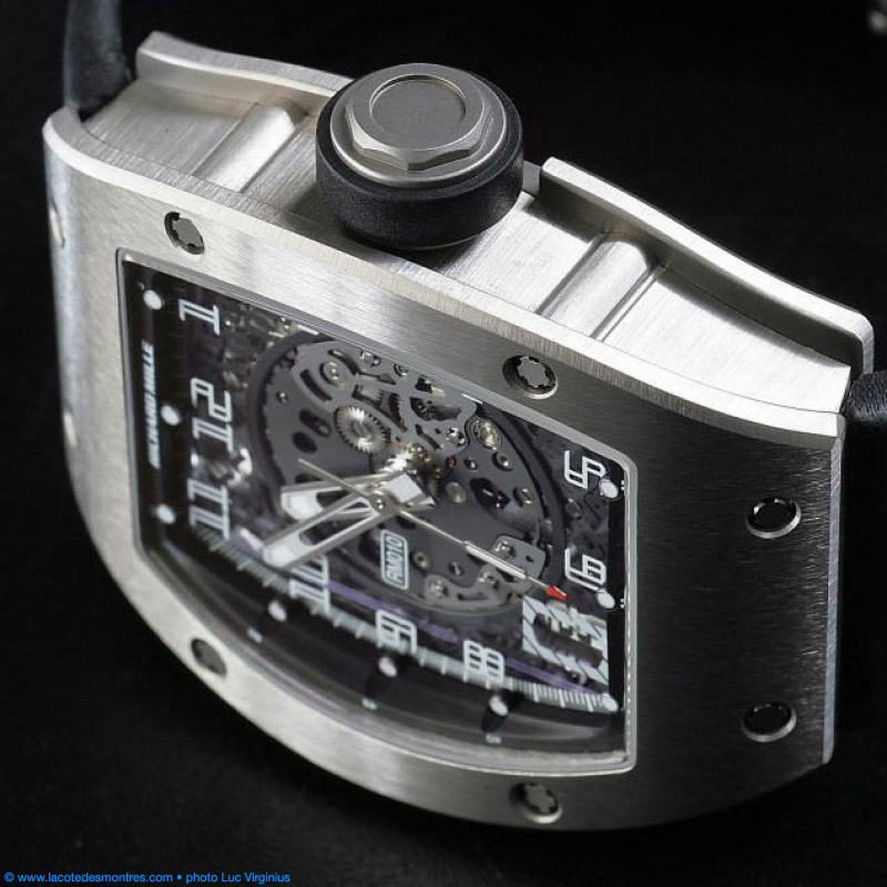 The Watch Quote: Photo - Richard Mille RM010 titanium