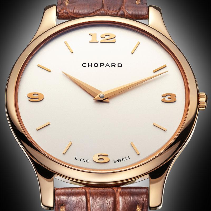 """La Cote des Montres : Photo - Chopard  L.U.C """"XP�  pink gold"""