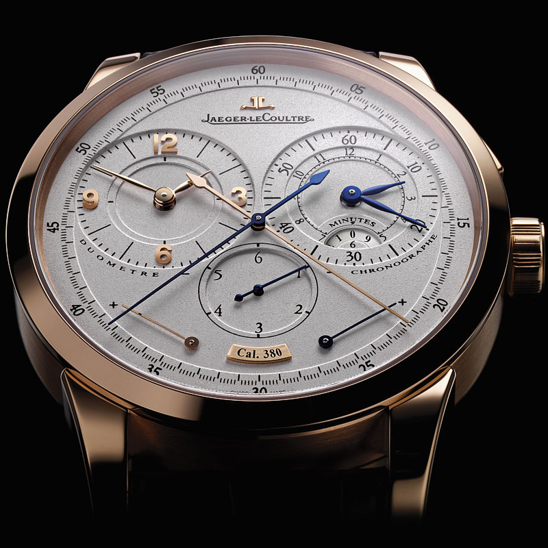 The Watch Quote: Photo - Jaeger-LeCoultre Duomètre à Chronographe