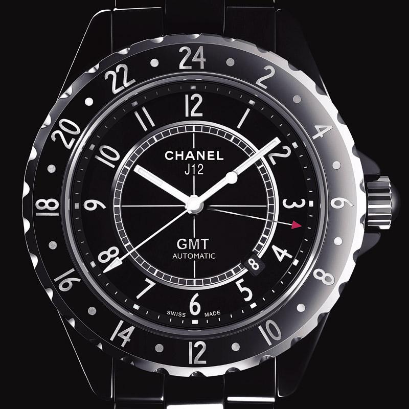 La Cote des Montres : Photo - Chanel J12 GMT Automatic