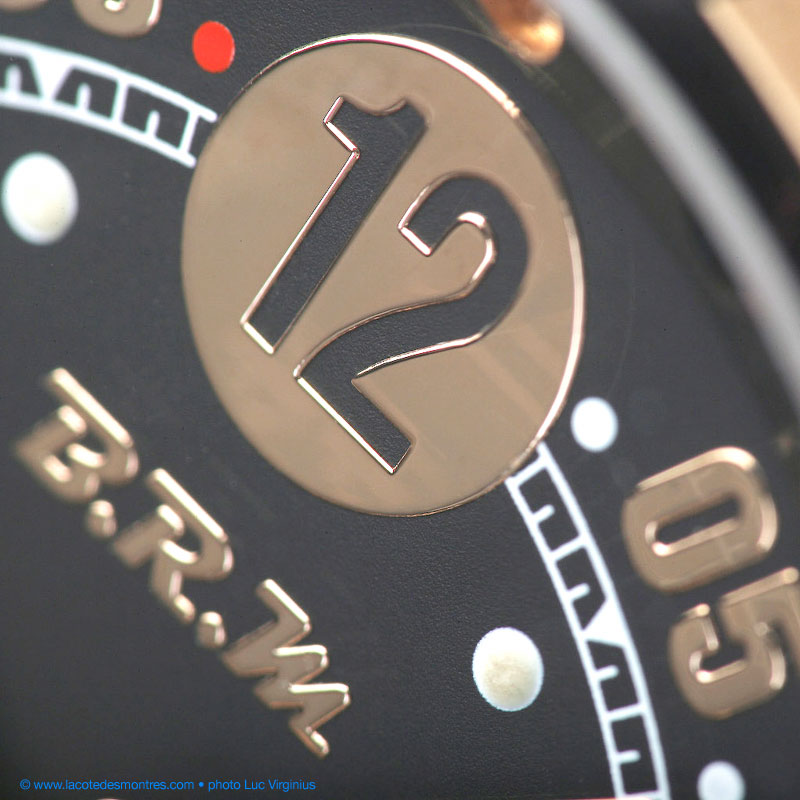 The Watch Quote: Photo - BRM V14 red gold