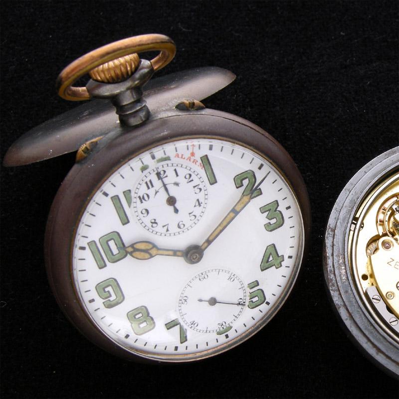 La Cote des Montres : Photo - La montre ZENITH de Gandhi