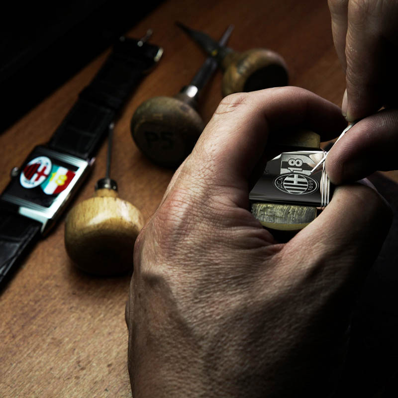 The Watch Quote: Photo - Jaeger-LeCoultre immortalises the latest success of the world's most titled club AC Milan