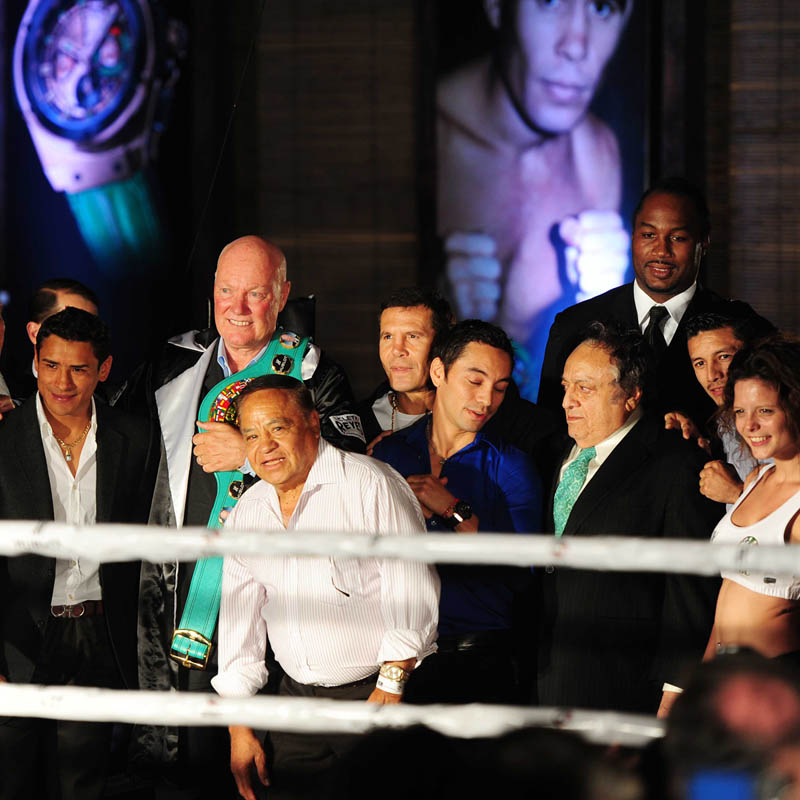 The Watch Quote: Photo - Hublot King Power World Boxing Council