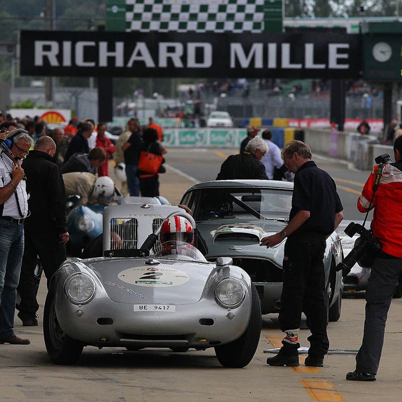 The Watch Quote: Photo - The 2012 Le Mans Classic, Richard Mille sets the pace during this 6th edition