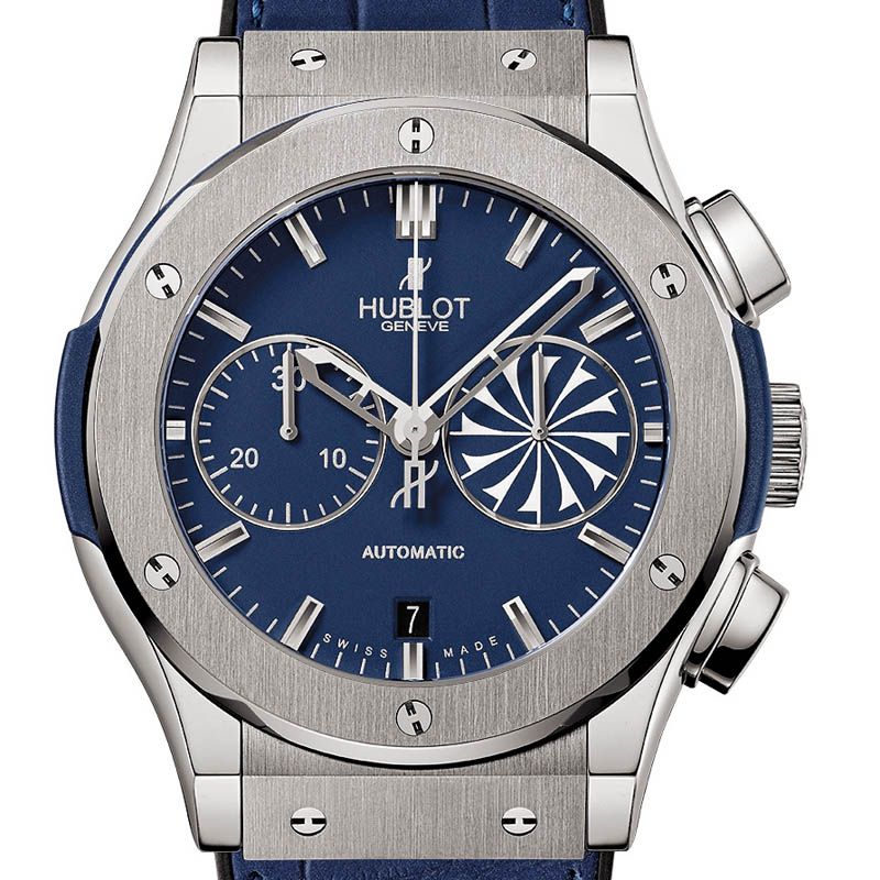 The Watch Quote: Photo - Hublot Mykonos Classic Fusion Chronograph