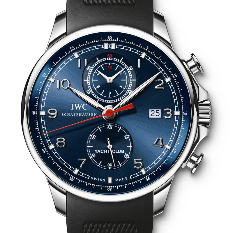 "The Watch Quote: Photo - IWC Portuguese Yacht Club Chronograph Edition ""Laureus Sport for Good Foundation�"