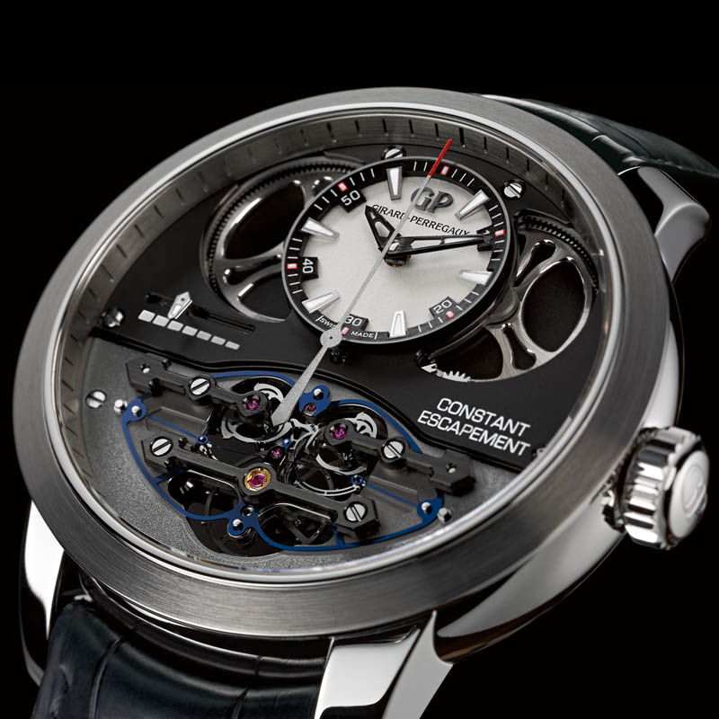 The Watch Quote: Photo - Girard-Perregaux Constant Escapement