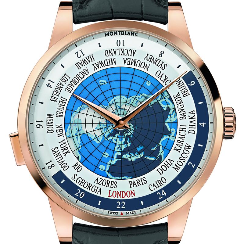 The Watch Quote: Photo - Montblanc Heritage Spirit Orbis Terrarum