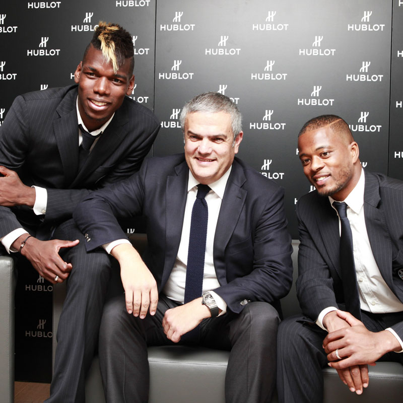 The Watch Quote: Photo - Hublot loves football
