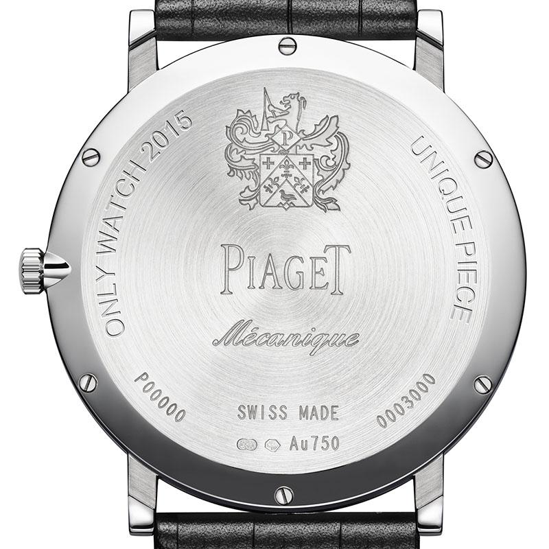 La Cote des Montres : Photo - Piaget réitère son soutien à Only Watch