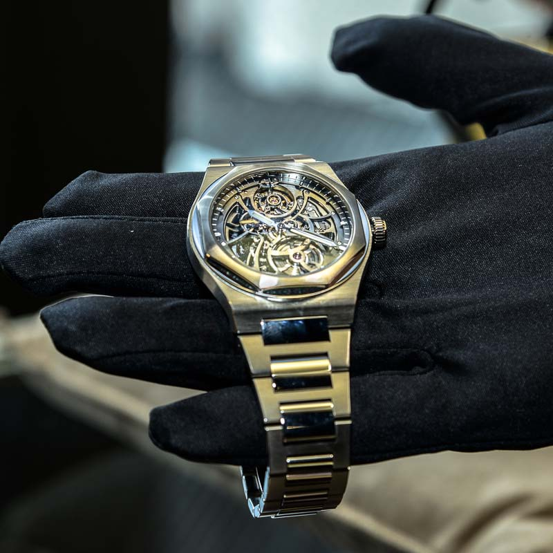 The Watch Quote: Photo - Girard-Perregaux Laureato gets its New York launch