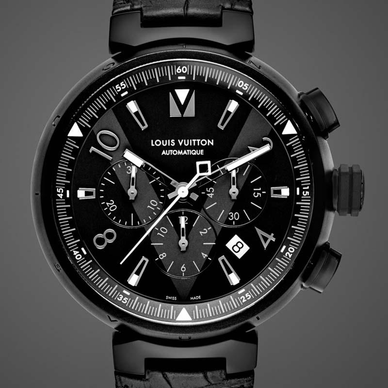 La Cote des Montres : Photo - Louis Vuitton Tambour All Black