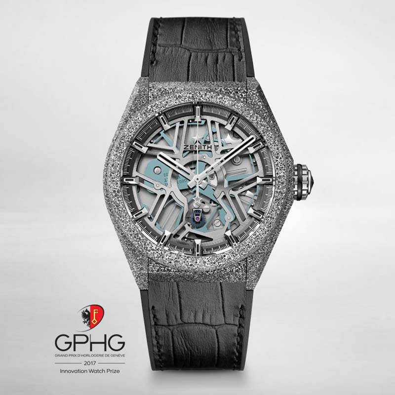 The Watch Quote: Photo - The Zenith Defy Lab wins the GPHG 2017 Innovation Watch Prize
