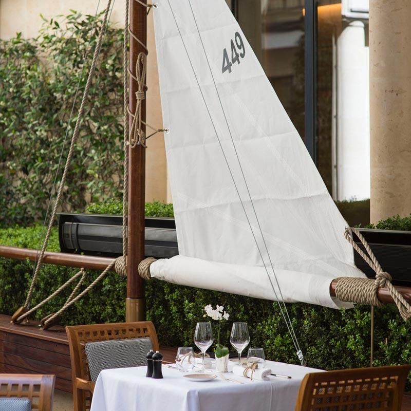 La Cote des Montres : Photo - Le Panerai Yacht Club Fait escale sur la terrasse du Park Hyatt Paris - Vendôme