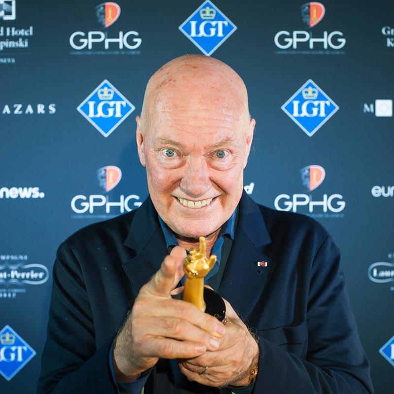 La Cote des Montres : Photo - Le Grand Prix de l'Horlogerie de Genève décerne le Prix Spécial du Jury à Jean-Claude Biver