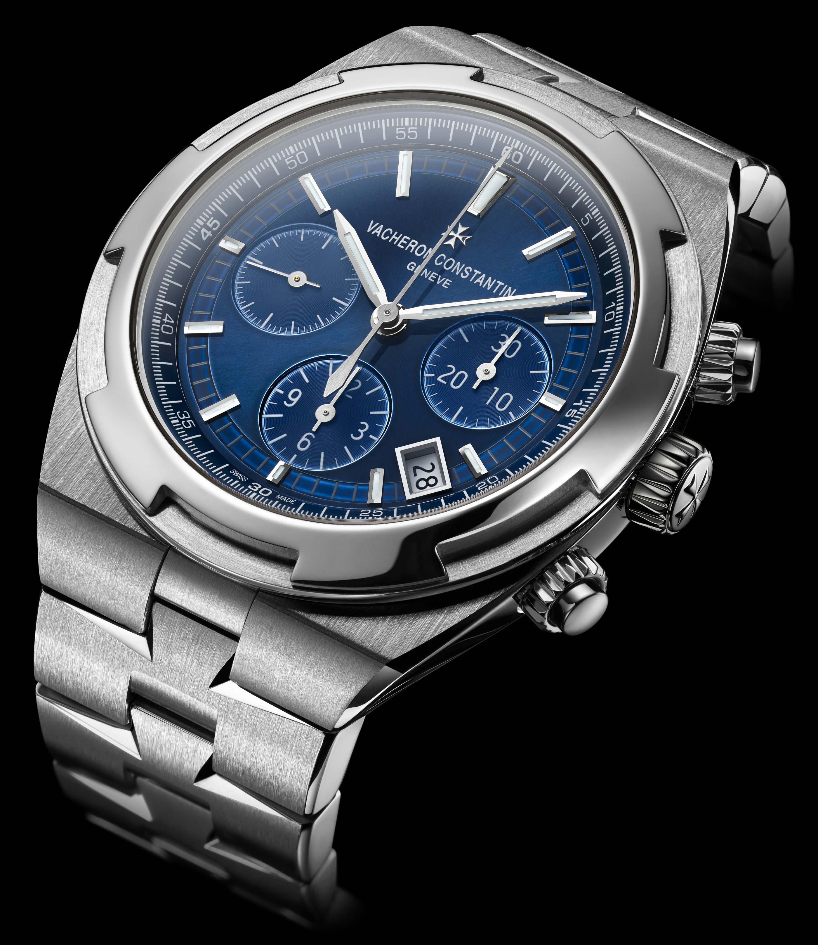 La Cote Des Montres Vacheron Constantin Overseas Chronograph Calibre 5200 Watch A Unique Perspective On The World
