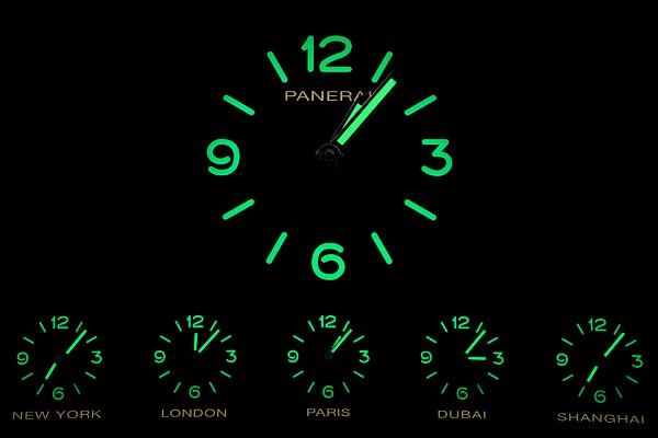 A Panerai clock for Expo Gate