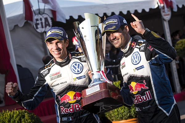 Bravo! S�bastien Ogier rules the Rally Circuit at Monte Carlo