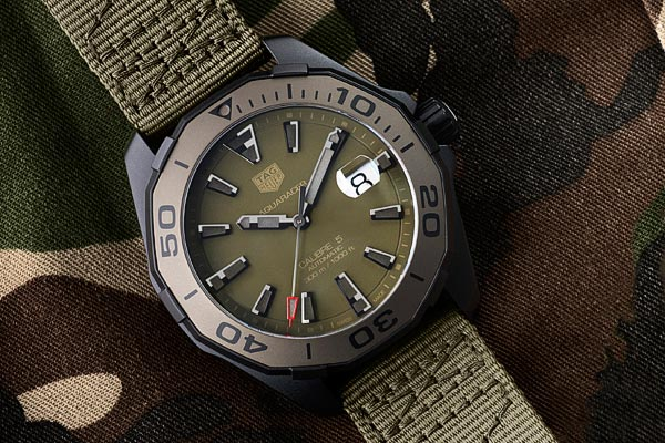 TAG Heuer Aquaracer Camouflage 300 Mètres – Calibre 5
