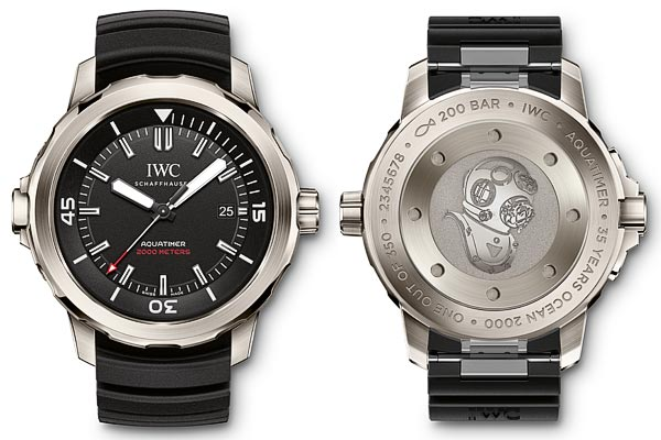 IWC Aquatimer Automatic 2000 Edition � 35 Years Ocean 2000 �