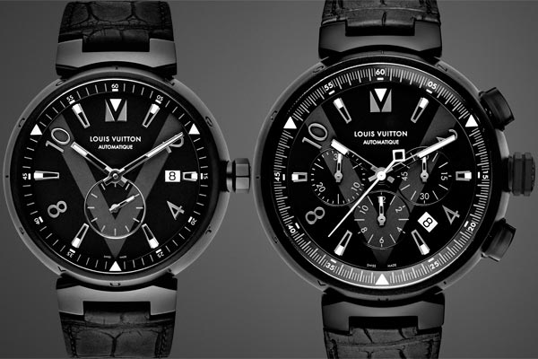 Louis Vuitton Tambour All Black