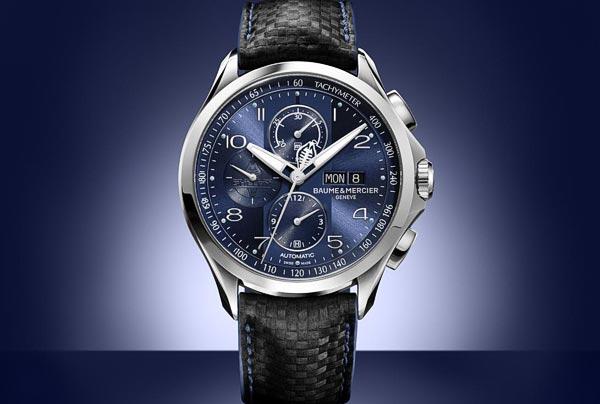 Baume & Mercier Clifton Club Shelby® Cobra Bucherer Blue Editions