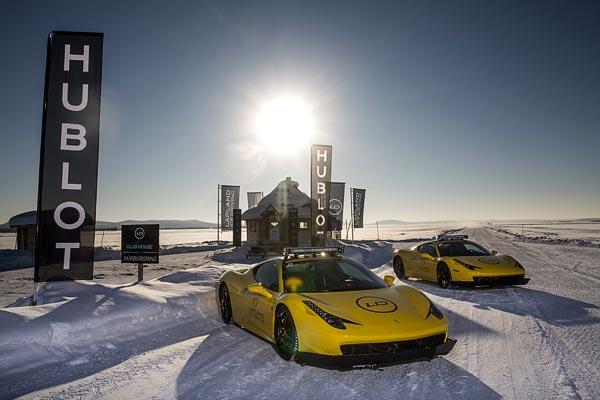 Hublot devient partenaire de Lapland Ice Driving