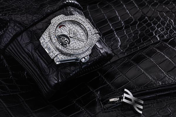 Hublot Big Bang Tourbillon Croco High Jewellery