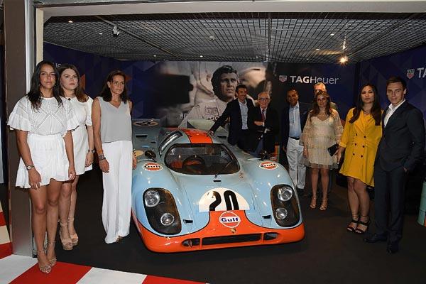 TAG Heuer réunit Patrick Dempsey et la famille Princière de Monaco avant les 24H du Mans