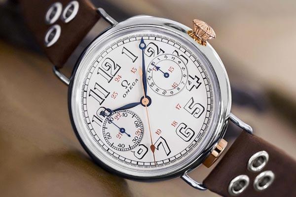 Premier chronographe-bracelet Omega Édition Limitée