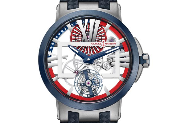 "Ulysse Nardin Executive Skeleton Tourbillon ""Stars & Stripes"""