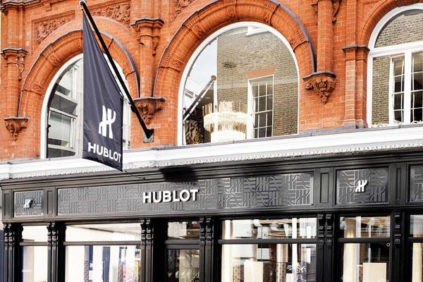 Hublot ouvre sa boutique phare à Londres en présence de Lara Stone, Dina Asher-Smith et le Chelsea FC Players
